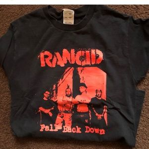 Mens small rancid  punk shirt